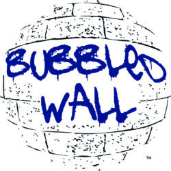 Bubbled Wall Logo for Website and Store SMALL